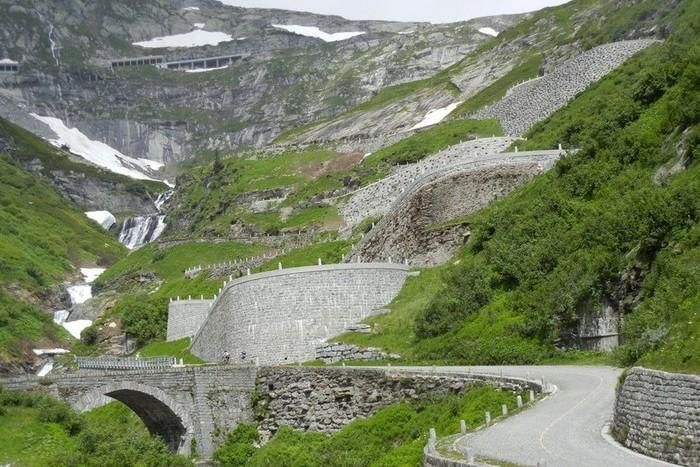 San Gottardo in mountain bike